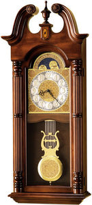 Howard Miller Maxwell Wall Clock Windsor Cherry 620226