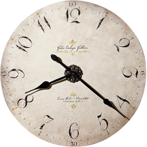 Enrico Fulvi Wall Clock Antique