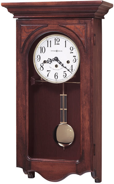 "24""H Jennelle Wall Clock Polished Brass"