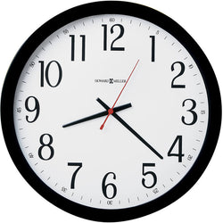 Howard Miller Gallery Wall Wall Clock Black 625166