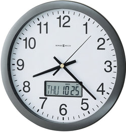 Chronicle Wall Clock Metallic Gray