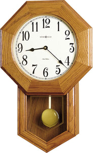 Howard Miller Elliott Pendulum Wall Clock Wood 625242