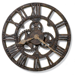 Howard Miller Allentown Wall Clock Rusted Antique 625275