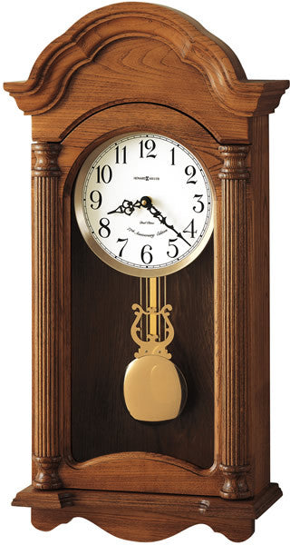 Amanda Wall Clock Golden Oak