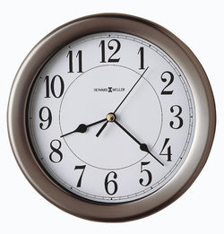 Howard Miller Aries Wall Clock Brushed Nickel 625283