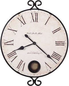 Howard Miller Magdalen Wall Clock Wrought Iron 625310
