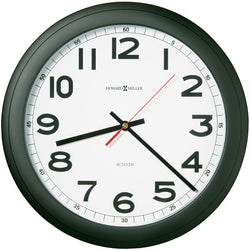 Norcross Wall Clock Matte Black