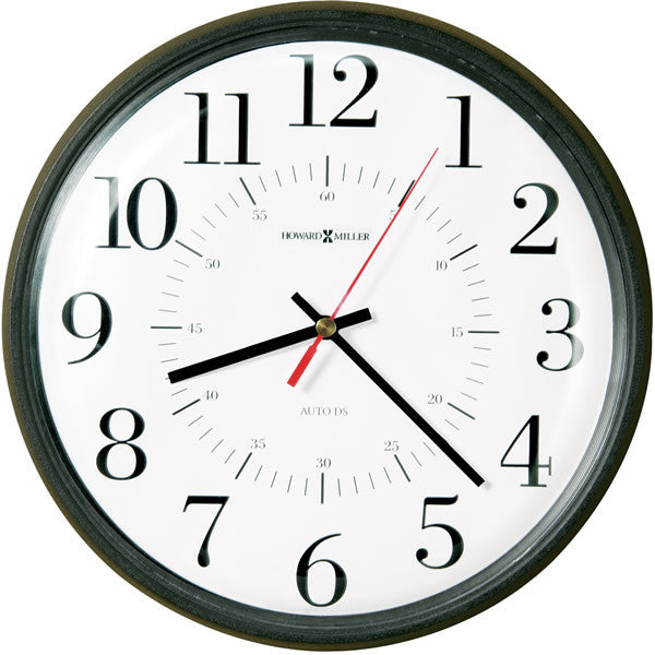 Alton Wall Clock Matte Black