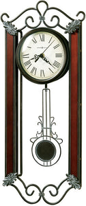 Howard Miller Carmen Wall Clock Wrought Iron 625326