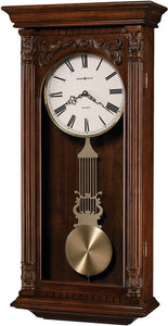 Howard Miller Greer Wall Clock Hampton Cherry 625352