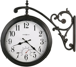 Luis Two Sided Clock Antique Iron