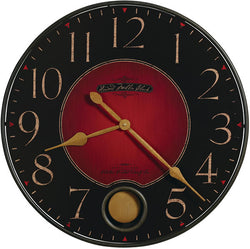 Howard Miller Harmon Rusted Clock Wrought Iron 625374