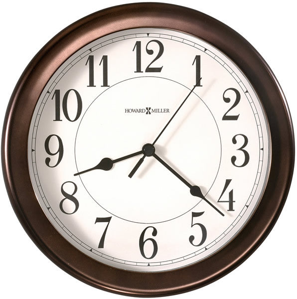 "9""H Virgo Wall Clock Oil-Rubbed Bronze"