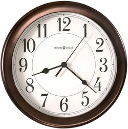 Virgo Wall Clock Oil-Rubbed Bronze