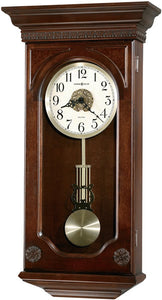 Howard Miller Jasmine Wall Clock Distressed Hampton Cherry 625384