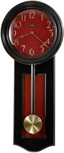 "28""h Alexi Wall Clock Worn Black"