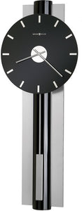 Howard Miller Hudson Wall Clock High Gloss Black Lacquer 625403