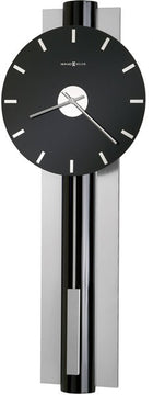 "34""H Hudson Wall Clock High Gloss Black Lacquer"