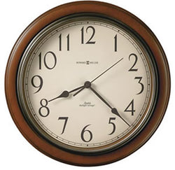Howard Miller Talon Wall Clock Medium Brown 625417