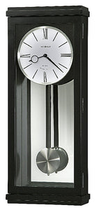 Howard Miller Alvarez Pendulum Wall Clock Black Satin 625440