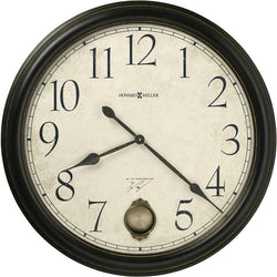 Ty Pennington's Signature Series Glenwood Falls Wall Clock Black Statin