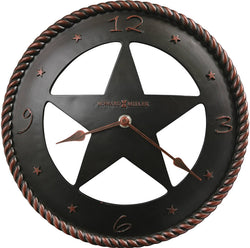 Howard Miller Maverick Wall Clock Aged Bronze 625445