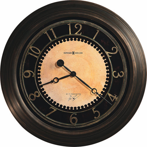 Howard Miller Chadwick Wall Clock in Antique brushed brass 625462