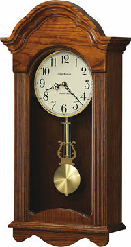 "25""H Jayla Tall Wall Clock in Legacy Oak"