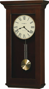 Continental Tall Wall Clock in Cherry Bordeaux