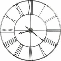 Howard Miller Stockton Wall Clock in Brushed Aged Nickel 625472