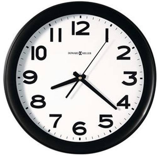 "Kenwick 13"" Wall Clock Black"