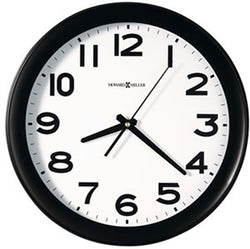 Howard Miller Kenwick 13 Wall Clock Black 625485