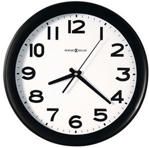 "14""H Kenwick Wall Clock Black"