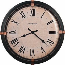 Howard Miller Atwater Wall Clock in Dark Rubbed Bronze 625498