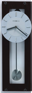 Emmett Wall Clock in Black Coffee