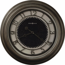 Howard Miller Kennesaw Wall Clock in Antique Nickel 625526