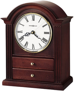 Howard Miller Kayla Mantel Clock Windsor Cherry 635112