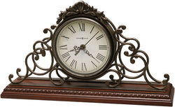 Adelaide Mantel Clock Wrought Iron