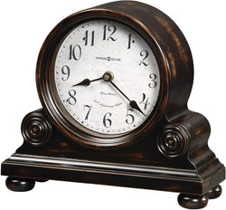 Howard Miller Murray Mantel Clock Worn Black 635150