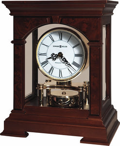 Howard Miller Statesboro Mantel Clock in Cherry Bordeaux 635167