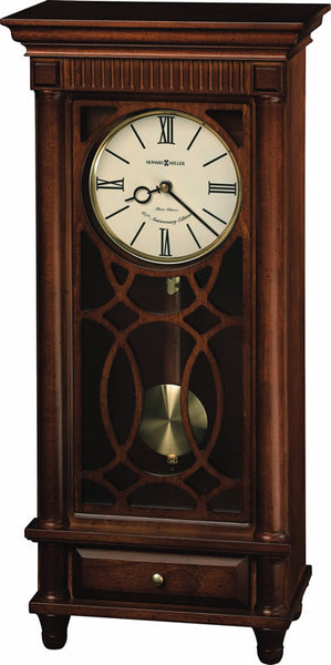 Howard Miller Lorna Mantel Clock in Tuscany Cherry 635170