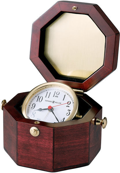 "4""H Chronometer Alarm Clock Cherry"