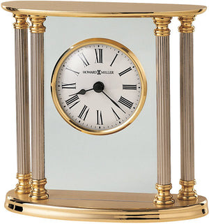 "6""H New Orleans Table-top Clock Brass"