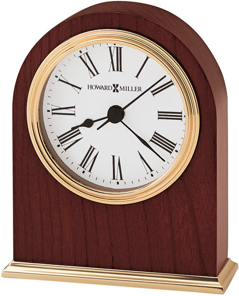 "5""H Craven Table-top Clock Rosewood Hall"