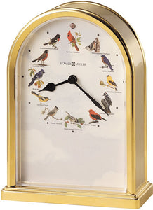 "8""H Song Birds Of North America III Polished Brass"