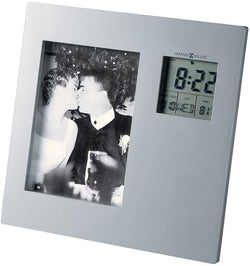 Picture This Frame Clock Titanium
