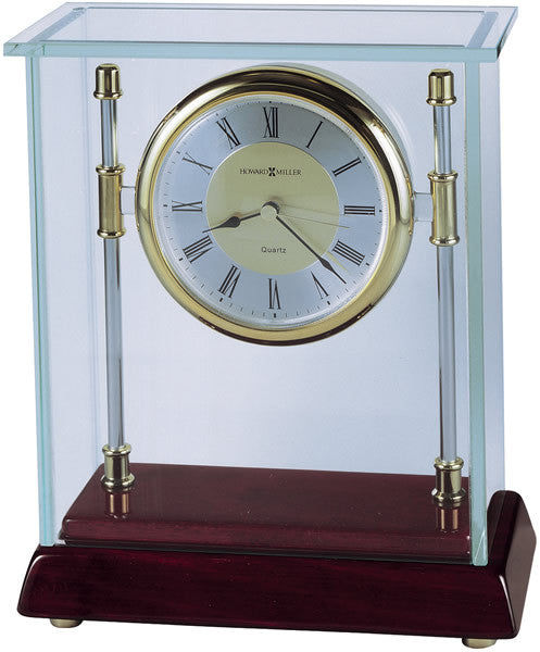 "8""H Kensington Table-top Clock Rosewood Hall"