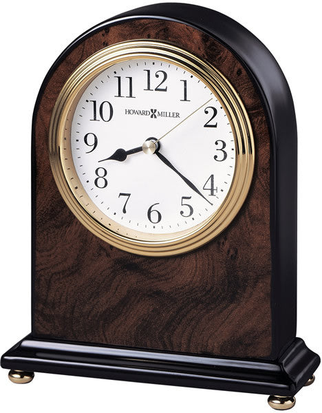 Bedford Table-top Clock High-Gloss Walnut