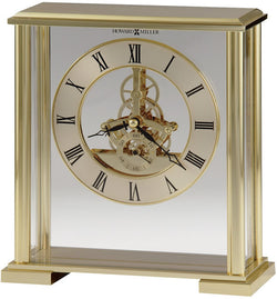 Fairview Table-top Clock Polished Brass
