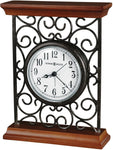 Howard Miller Mildred Table-top Clock Warm Gray on Cherry 645632